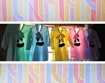 Pastel Ghosts /// Handmade Ghost Dress Tunic  /// Halloween Costume /Cosplay ///