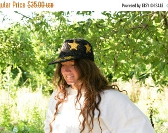 SALE Sequined star Hat trucker Cap Vintage 90's r'n'b hat hip hop womens baseball hat