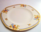 "4 Ivory Maddock ""Royal Cameronian"" Dinner/Luncheon Plates, Serving Dishes"