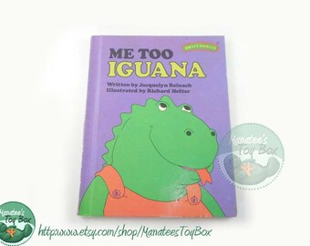1970s Sweet Pickles Book: Me Too Iguana