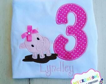Pig Birthday Shirt
