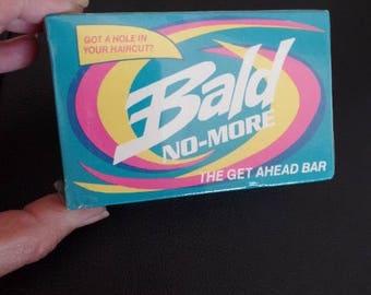 Bald No More Soap Vintage Gag Gift NOS 1987