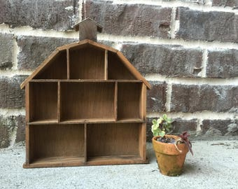 Vintage Wooden Shadowbox