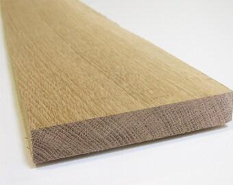 White Oak Board @ 3/4 X 3 X 16 inches. Amish Lumber. Great Price. (sku: X0017J968B)