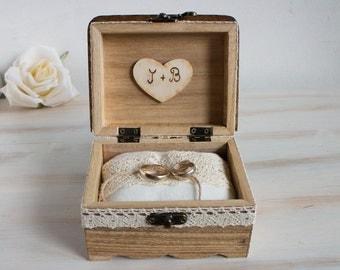 Ring bearer box, Customizable ring box, Wedding ring box, Personalized  wedding box, Ring Holder, Engagement ring box, Pillow Alternative