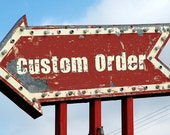 Custom Handkerchief Order for Amanda R