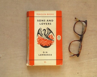 Vintage penguin paperback by D. H. Lawrence - Sons and Lovers