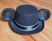 Groom Mouse Ears Top Hat