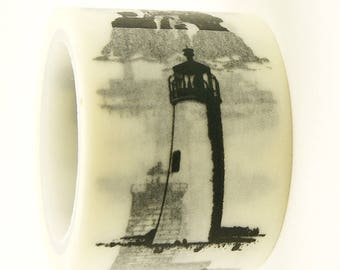 Lighthouse - Japanese Washi Masking Tape - 30mm Wide - 5.5 yards