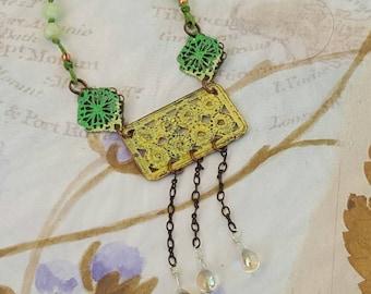 Spring Rain Necklace