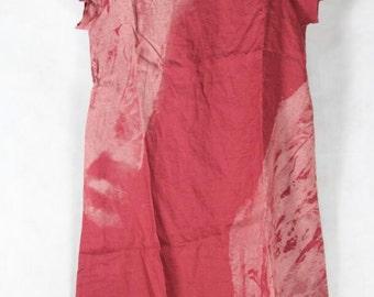 Women summer Clothing fuchsia large size long dress