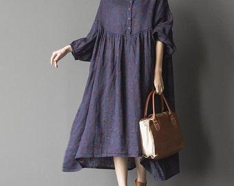 blue oversized loose long dress large size dresses black oversized dresses