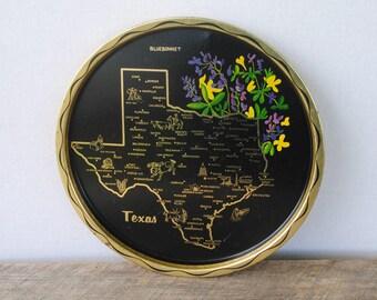 Vintage Texas Souvenir Tray