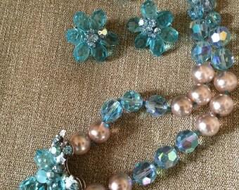 DeMario necklace & earrings