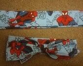 Spiderman Fabric Headband