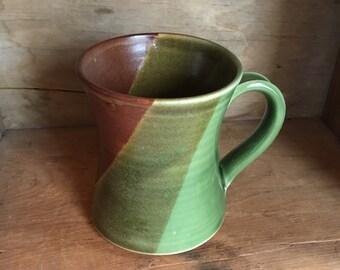 Coffee Tea Mug Cup in Applecross by village pottery PEI