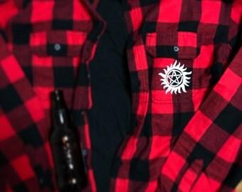 Supernatural anti-possession Flannel Shirt