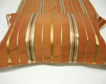 "Kravet Fabric -Luxury Fabric -Silk -Linen   Upholstery Fabric-Striped Fabric- Multipurpose -pc 24.5""w x 35""L- ref Kr24"