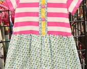 Size 3t knit top dress.  Clearance free shipping.