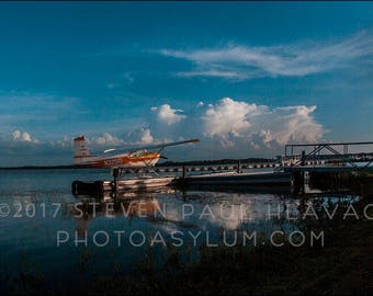 Seaplane Travel Adventure Piper No. 71 Florida Aviation Signed Fine Art Photography