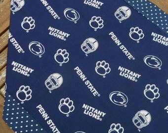 Table Runner Penn State Nittany Lions Blue and White