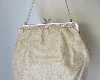 Vintage Gold Lamé purse