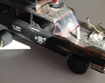 Mad Max,Classicwrecks,Scale Model Car,rat Rod,Thunder Road