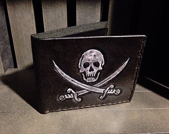 Leather Pirate Wallet