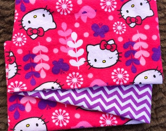 Kitty Winks, ***STAGE 1*** Children's G Tube Belly Band Wrap, (waist size 17.5-19.5 inches)
