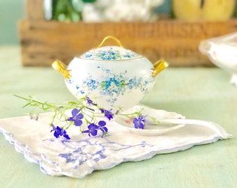Limoges Dish Vintage Sugar Bowl