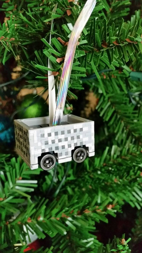 Minecart Ornament