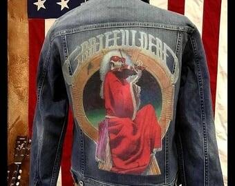 Blues for Allah Custom Denim Jacket - Men's or Women's