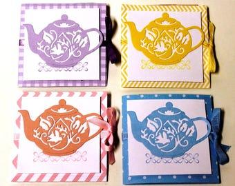 Tea Bag Holder - Set of four