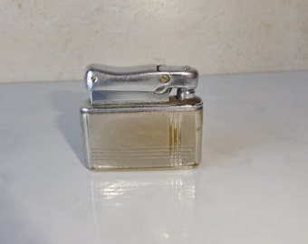 Vintage Lighter Kreisler West Germany Colibri Kreisler Pocket Lighter Engraved Monogrammed
