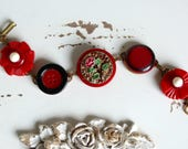 Antique Button Bracelet C...