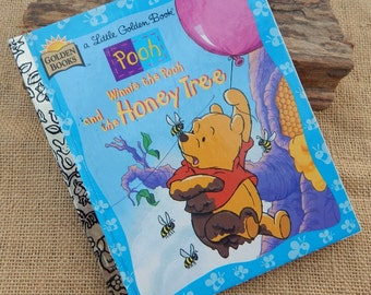 Winnie The Pooh and the Honey Tree  ~  Little Golden Book  ~  Copyright 1997