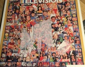 Television History, 1000 piece jigsaw puzzle  love lucy, gillians island, Star Trek, munsters,