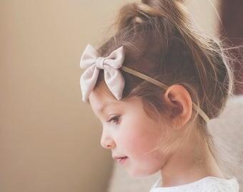 Baby Girl Headband - Baby Headband - Baby Girl Bow - Bow Headband