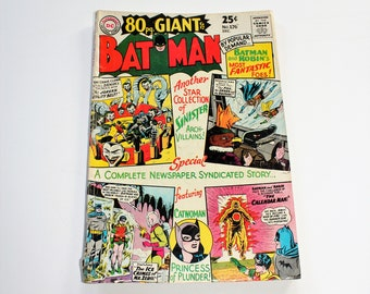 Comic Book Batman DC Comics #176 Giant November 1966 Silver Age