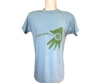 Logan's Run T-Shirt // Vintage Logan's Run T-Shirt  // 1970's Movie T shirt // 70's Logan's Run Tee Shirt  // Vintage Target T Shirt