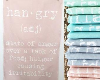 Linen-Cotton Hangry Tea Towel