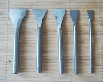 Slot Punch Tool Leathercraft Leather Leatherwork 5 Pieces