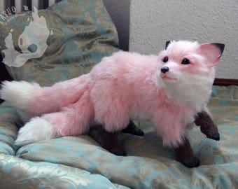 PREORDER: Pink Kitsune / Hulijing pup