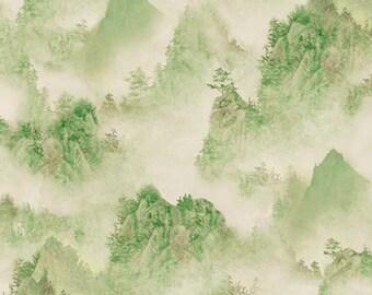 Quilting Treasures - Imperial Panda - Tonal Mountains