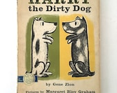 HARRY The DIRTY DOG Hardcover '56 Gene Zion Dust Jacket 1st