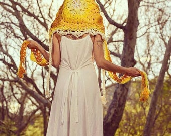 "Sacred Spirit Hood ""Solar Plexus Chakra"""