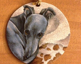 Custom Dog Ornament Pet Portrait Dog Christmas Ornament Custom Ornament Hand Painted Ornament Christmas Pet Portrait Dog Lover Gift