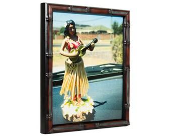 "Craig Frames, 16x20 Inch Vintage Brushed Mahogany Picture Frame, .75"" Wide (85751620)"