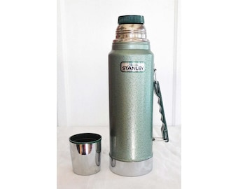 1970's 1 QT Thermos Stanley Aladdin A-944DH Complete Excellent Condition!