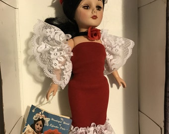 Reserved for Taylor....1984 Effanbee Argentina doll 1176